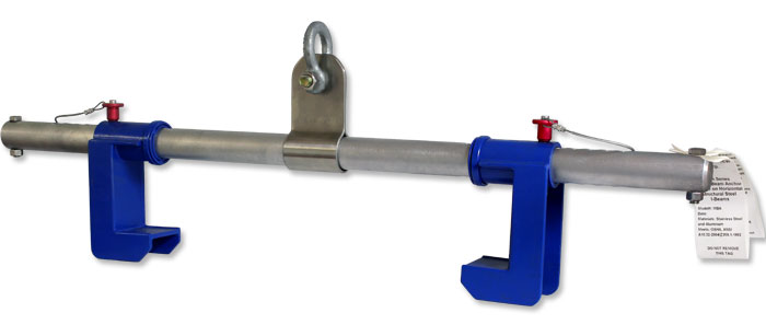I-beam anchor model MBA-18PP and MBA-24PP